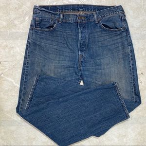 Levi's Button Fly 501 Mens Jeans Size 36x32